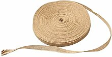 Natur Jute Ribbon Vintage Craft Dekoration DIY Supplies, 15 mm