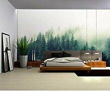 Natur Nebel 3D Wald Tapete 3D Fototapeten Für