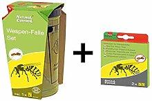 Natural Control Wespenfalle + Köder für