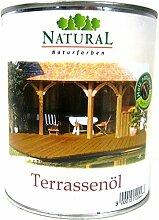 Natural Terassenöl Lärche, 0,75 Liter
