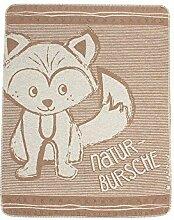 Naturbursche® Kuscheltuch, Farbe:taupe;Größe:ohne Größe