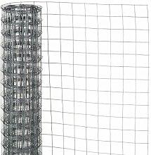 Nature Maschendraht Gartenzaun Gitterzaun Zaun 1x5 m verzinkter Stahl 6050255