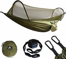 NATUREFUN Ultra-Leichte Reise Camping Hängematte