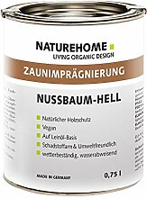 NATUREHOME Bio Holzschutz außen 0,75l Nussbaum
