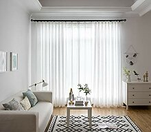 Naturer Gardinen Transparent Wohnzimmer Modern