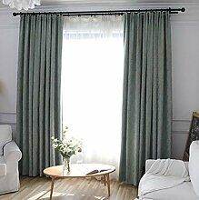 Naturer Grün Vorhang Wohnzimmer Modern