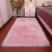 Naturer Teppich Flauschig Wohnzimmer Waschbar