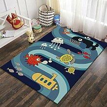 Naturer Teppich Kinderzimmer Junge 80x120 Größe