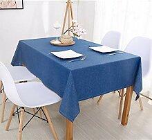 Naturer Tischdecke Tischtuch Tischläufer