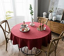 Naturer Tischdecke Wasserabweisend Tischwäsche