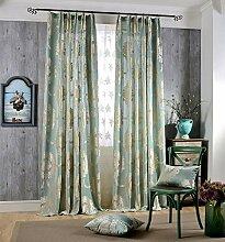 Naturer Vorhang Transparent Kräuselband 145x140