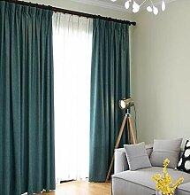 Naturer Vorhang Wohnzimmer Modern 260x140 Lang