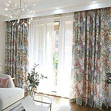 Naturer Vorhang Wohnzimmer Modern Kräuselband