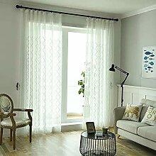 Naturer Wohnzimmer Gardinen Voile Transparente