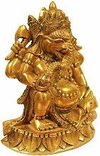 Naturesco Edle Figur Ganesha mit goldenem