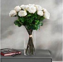 Naturgetreuer Rosenstrauß Avalanche, 22