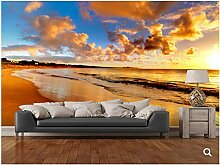 Naturlandschaft Tapete, Strand 3D Fototapete,
