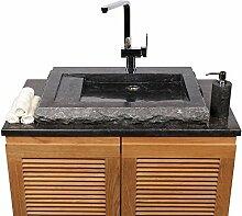 Naturstein Marmor - Waschbecken Kotak mit