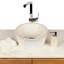 Naturstein Marmor Waschbecken Waschschale