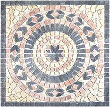 Naturstein Mosaik Einleger Fliese Groß Travertin