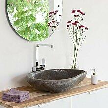 Naturstein Waschbecken Waschtisch 60 cm Poliert