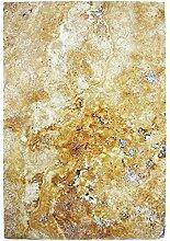 Natursteinfliesen Travertin Castello Gold