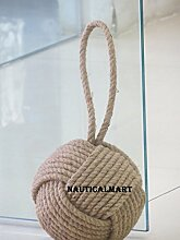 Nautical Mart Juteseil-Türstopper, wunderschöne,