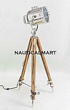 nauticalmart Vintage Classic Stativ Stehlampe