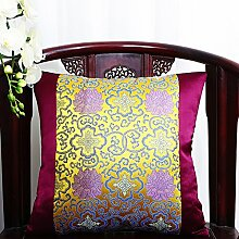 NAUY- Kissen Sofa Kissen Pastoral Chinesisch Klassische Kissen Büro Taille Kissen Bett Zurück Auto Taille Kissen mit Kern ( größe : 45*45cm (with core) )
