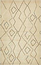 Navajo Bereich Teppich, beige, 5 x 8