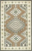 Navajo Bereich Teppich, braun, 5 x 8