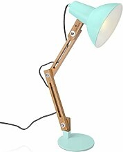 Navaris Design Holz Schreibtischlampe - E27