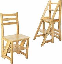 Navaris Faltstuhl mit Leiter Funktion - Stuhl