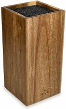 Navaris Messerblock aus Akazienholz mit