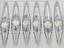 Navidacio Traditional Christmas Glass Collection 6