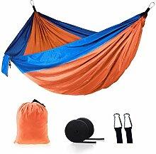 Naxqx Hängematte Camping Outdoor-Doppelschaukel