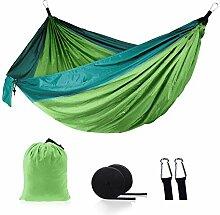 Naxqx Hängematte Camping Outdoor Doppelschaukel