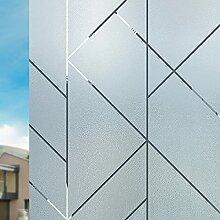 Nayoroom Fensterfolie Sichtschutz Motiv Bunt