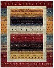Nazar 814110Ethno 814Teppich, Ethno-Motiv, synthetisches Material, mehrfarbig, mehrfarbig, 120 x 170 cm