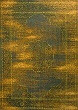 Nazar Berlin Teppich, Polyester Baumwolle, grün,