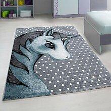 Nazar Teppich für Kinderzimmer - Einhorn Design