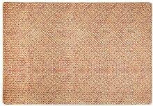 NAZAR Teppich, Polyester, Beige, 170x120 cm