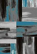 Nazar Teppich, Synthetikfasern, blau, 170x