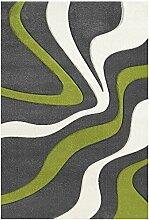 Nazar Teppich, Synthetikfasern, grün, 230x