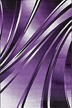 Nazar Teppich, Synthetikfasern, lila, 170x