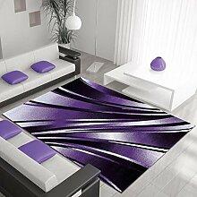 Nazar Teppich, Synthetikfasern, lila, 290x