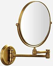 NBE Badezimmer Spiegel Antik Kupfer ausziehbaren