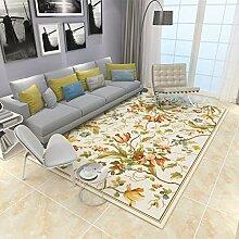 NBE Einfache, Moderne Teppich Blumen Wohnzimmer