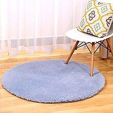 NBE Moderne, einfache Solide runden Teppich