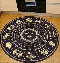 NBE Personalisierte runden Teppich Teppich für
